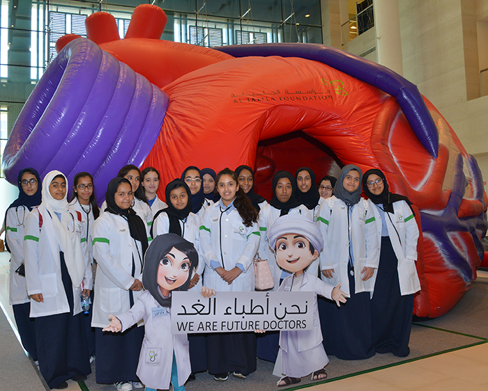 "'Destination Medicine Summit' by Al Jalila Foundation inspires Emirati youth to pursue medicine under the slogan ""today's students, tomorrow's doctors"""