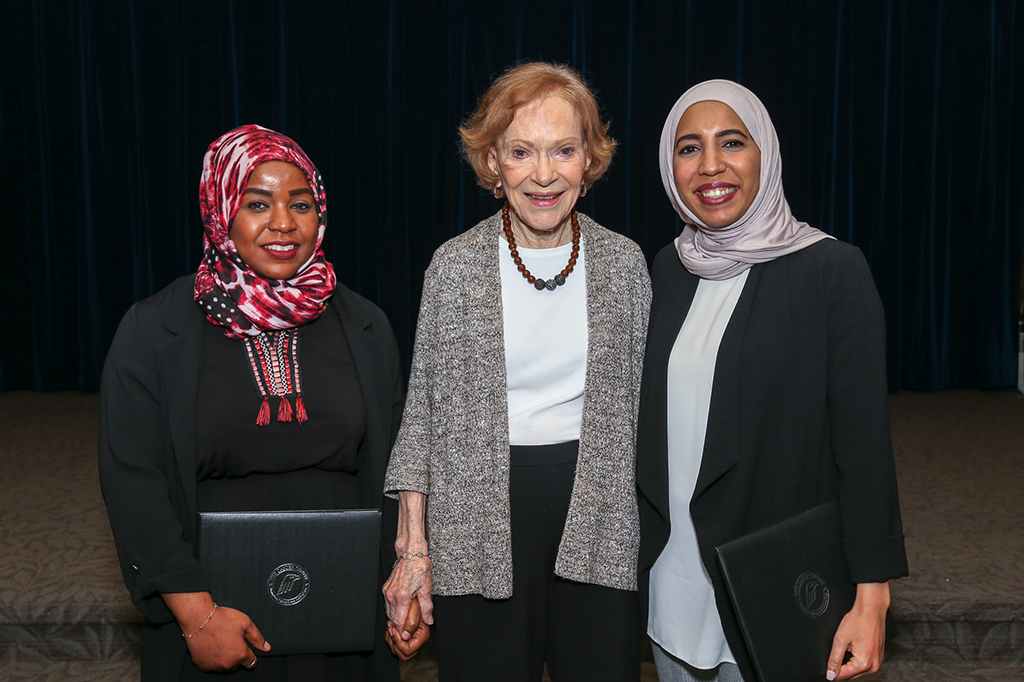 Emiratis graduate from the Rosalynn Carter Mental Health Journalism Fellowship Program sponsored by Al Jalila Foundation