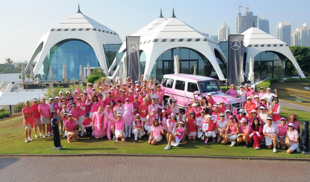 مؤسسة الجليلة تشهد مشاركة وطنية هائلة خلال شهر التوعية بسرطان الثدي
