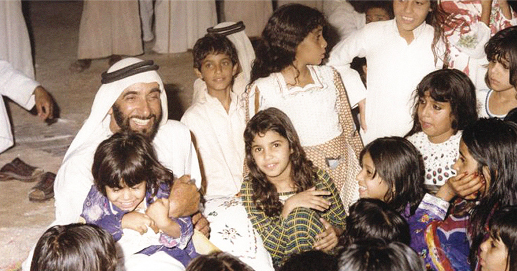 Sheikh Zayed's Legacy of Giving Lives On