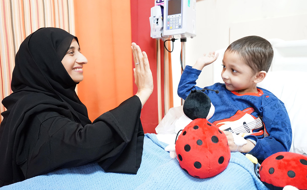 Al Jalila Foundation basma Ramadan campaign raises AED 1.5 million  to give sick children in the UAE a reason to smile