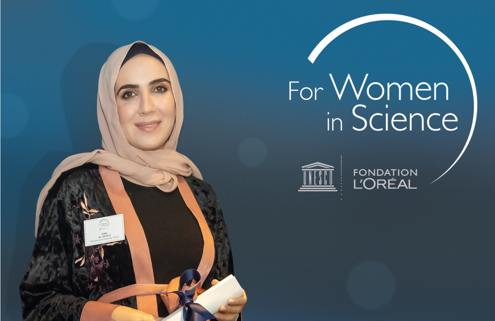 Dr Saba, a leading woman in science