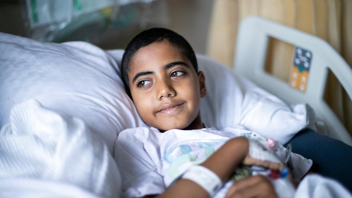 The power of hope for Palestinian boy