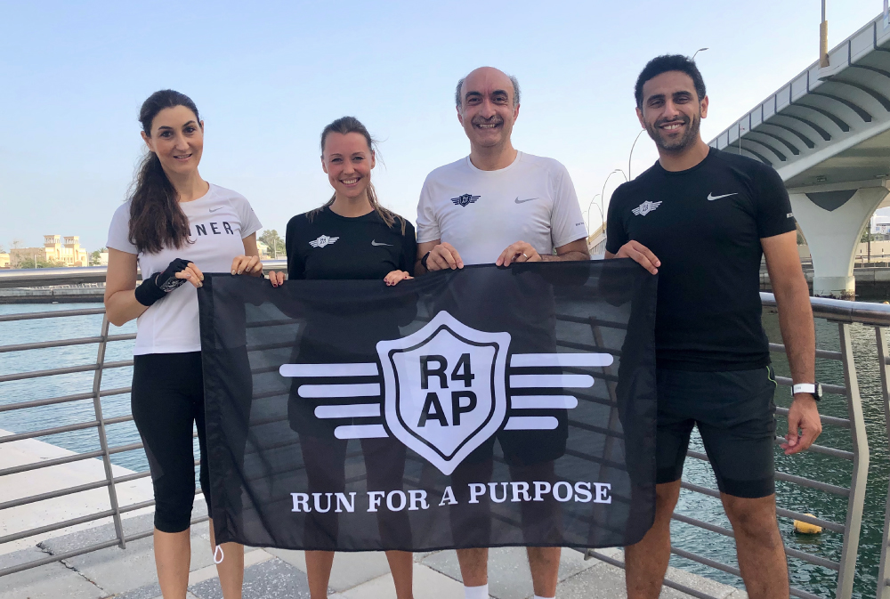 Dubai runners donate miles for smiles