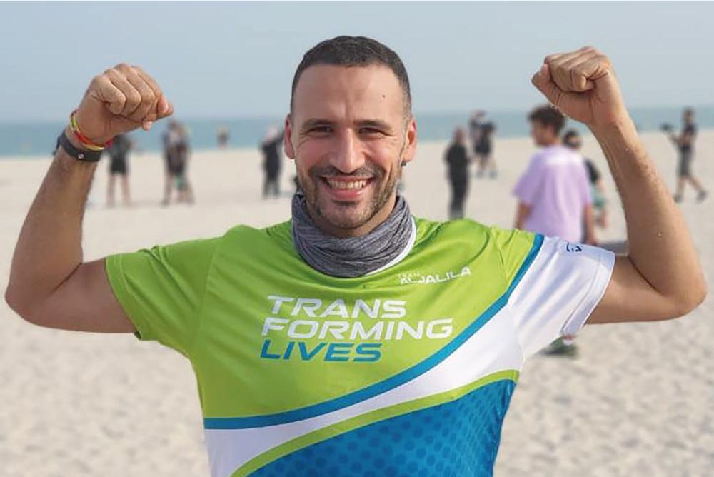 Dubai runner on a charitable quest
