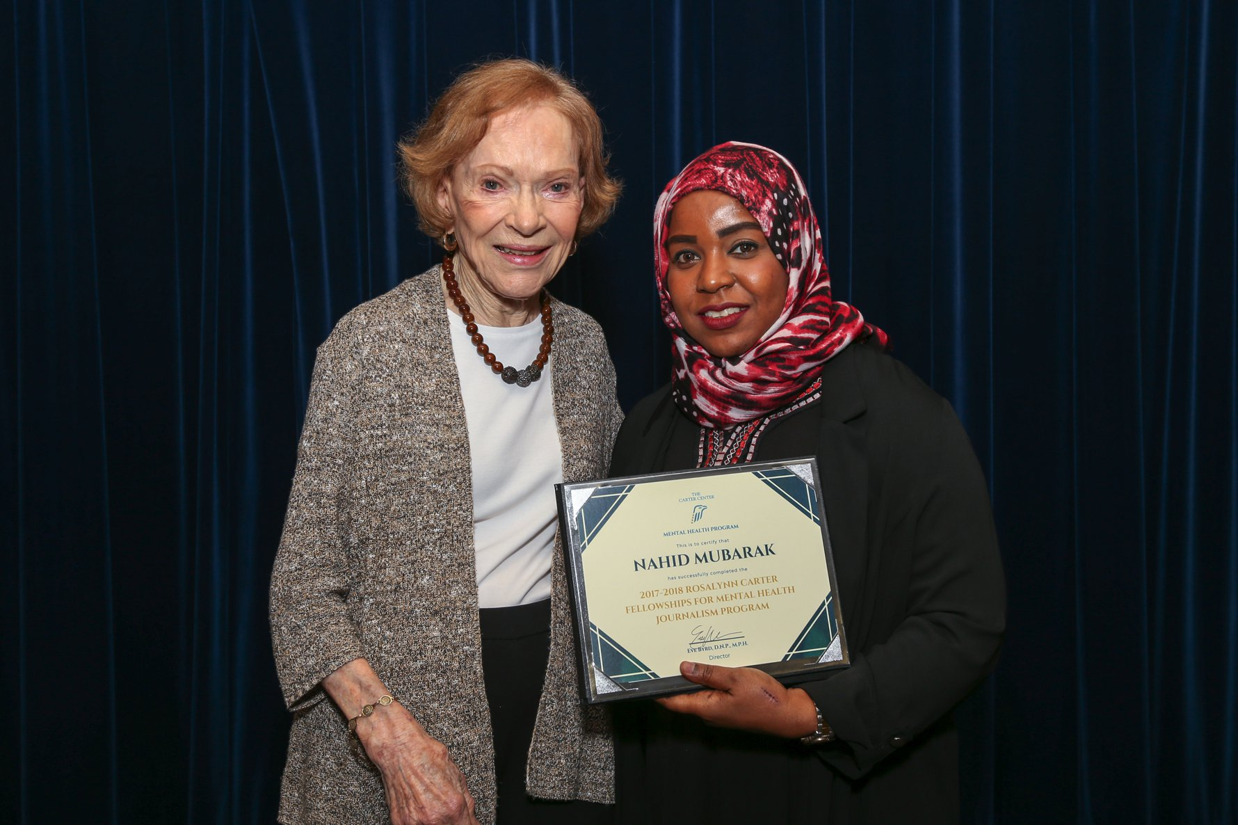 Nahid inspires the community to support medical research