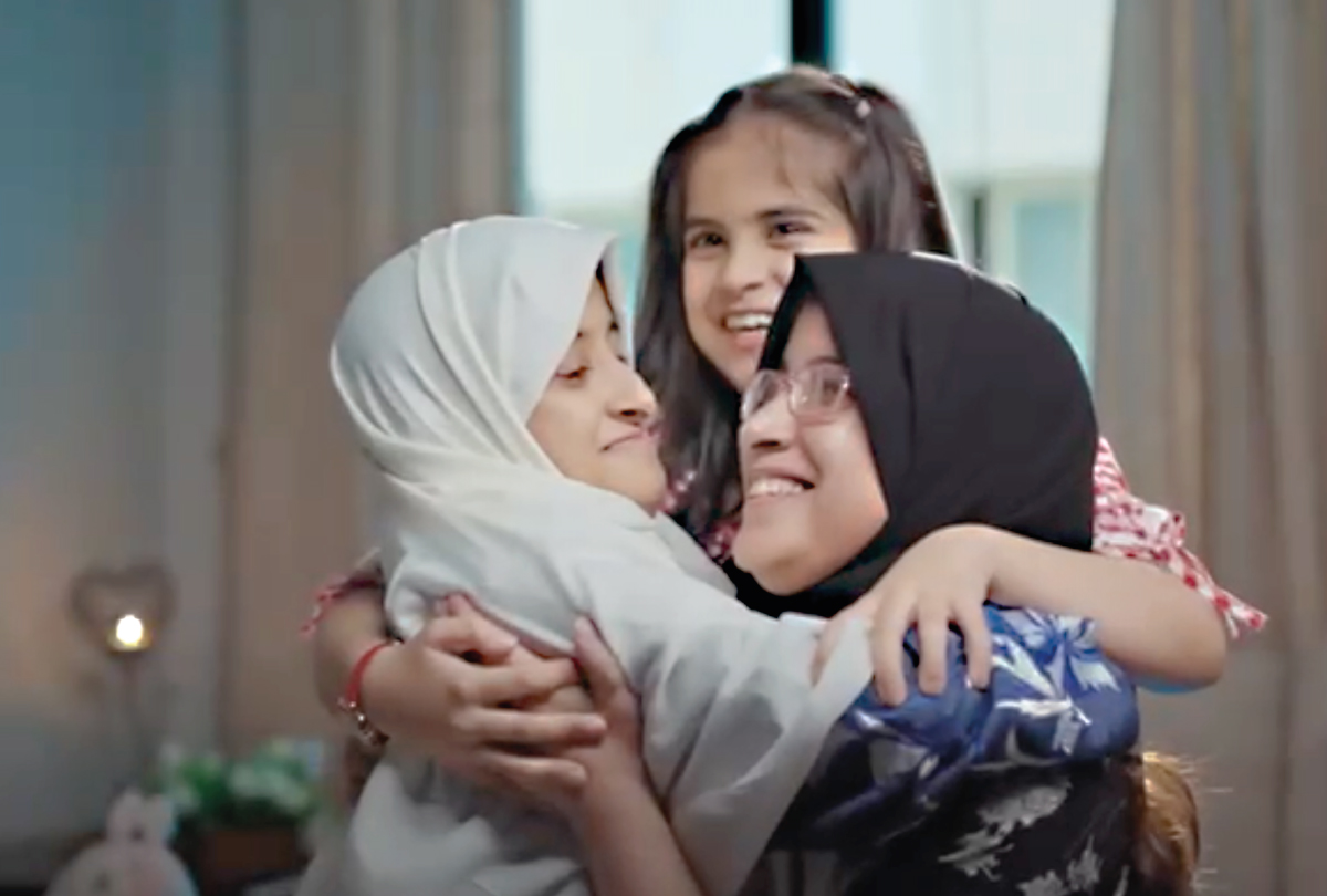 The gift of hearing transforms sisters forever